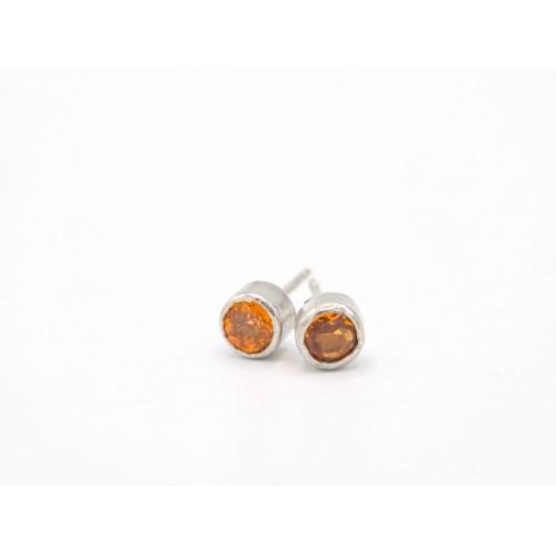 Orecchini POP in argento 925 con aptatite - valentinadomenichelli.com