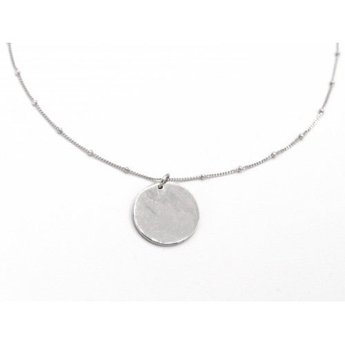 Ciondolo COIN in argento 925 - valentinadomenichelli.com