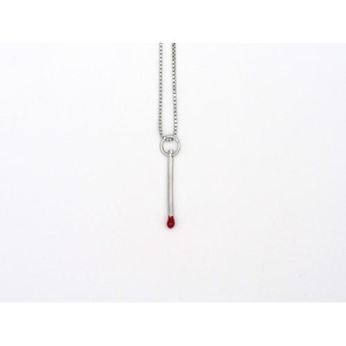 Ciondolo MATCH in argento 925 - valentinadomenichelli.com