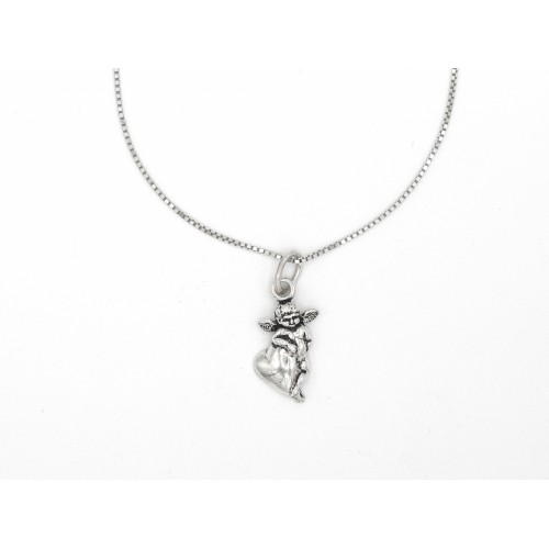 Ciondolo CUPIDO in argento 925 - valentinadomenichelli.com