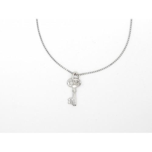 Ciondolo KEY JR in argento 925 - valentinadomenichelli.com