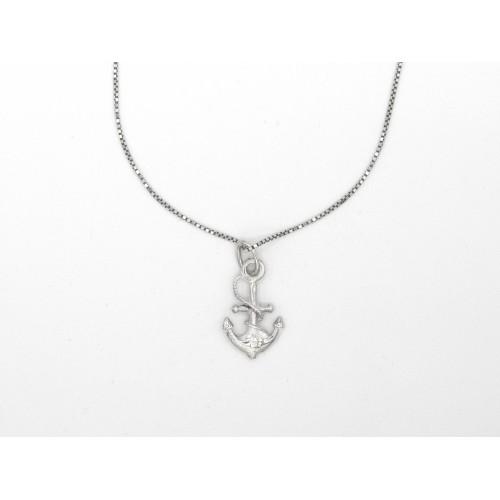 Ciondolo ANCHOR in argento 925 - valentinadomenichelli.com