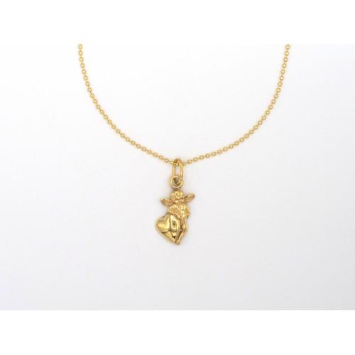 Ciondolo CUPIDO in bronzo - valentinadomenichelli.com