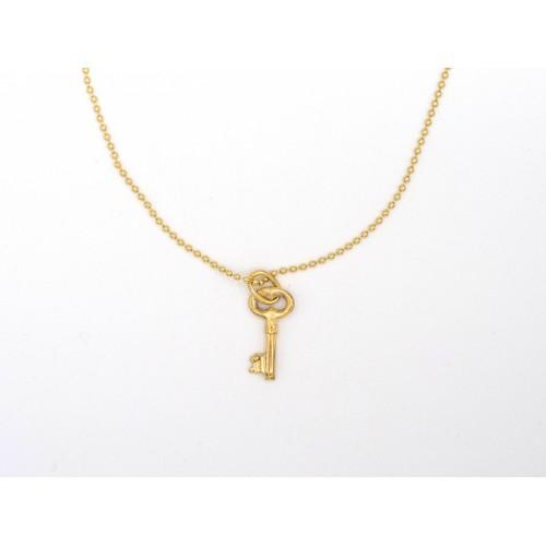 Ciondolo KEY JR in bronzo - valentinadomenichelli.com