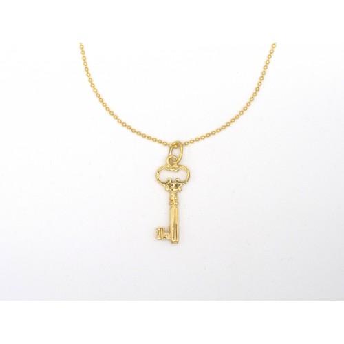 Ciondolo KEY in bronzo - valentinadomenichelli.com