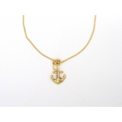 Ciondolo ANCHOR in bronzo - valentinadomenichelli.com