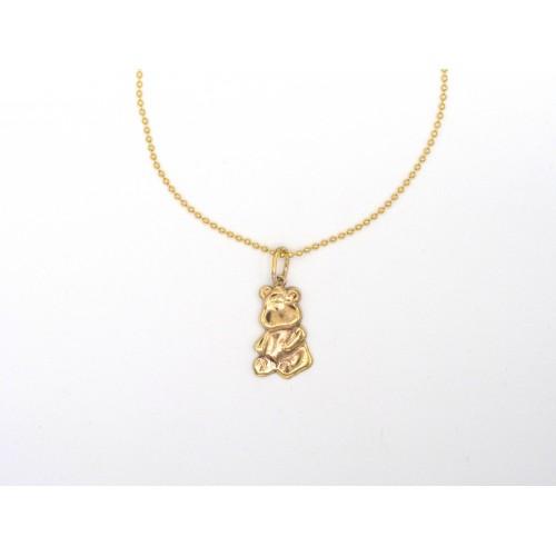 Ciondolo TEDDY in bronzo - valentinadomenichelli.com