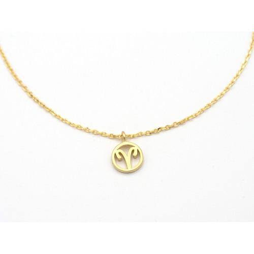Ciondolo in bronzo con segno zodiacale - valentinadomenichelli.com