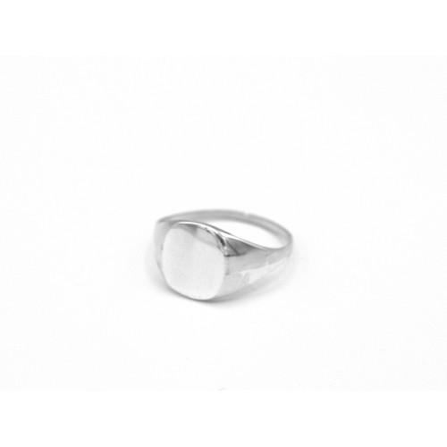 Anello PINKY in argento - valentinadomenichelli.com
