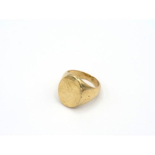 Anello CHEVALIER in bronzo dorato