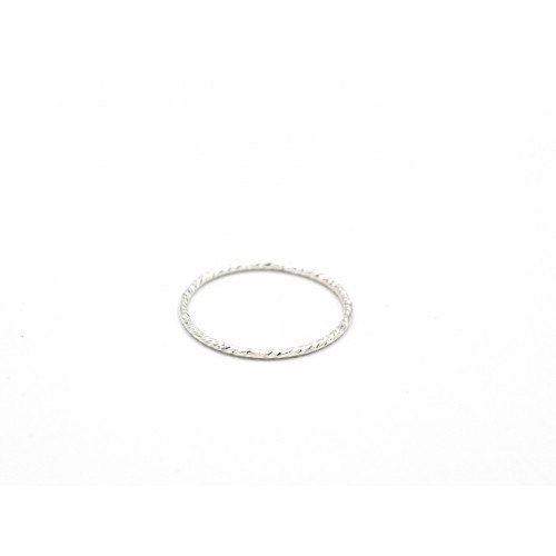 Fedina sbrilucicosa SO SIMPLE ☆ in argento rodiato - valentinadomenichelli.com