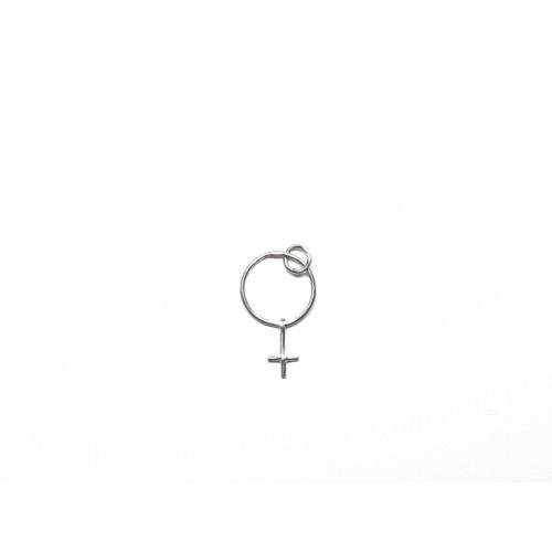 Ciondolo GIRL in argento 925 - ValentinaDomenichelli.com
