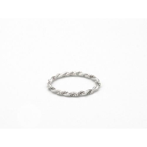 Anello TWIST in argento 925 - valentinadomenichelli.com